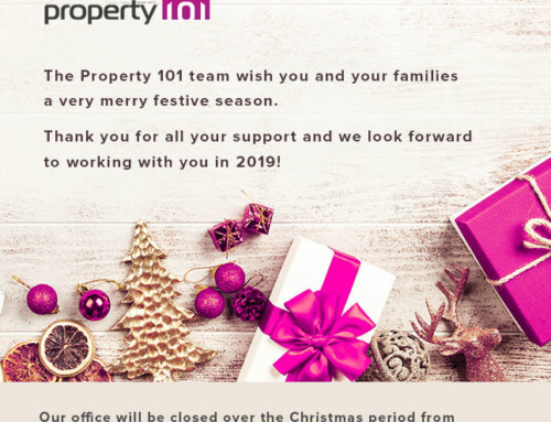Wishing you a very safe and merry festive season from Property 101 Group